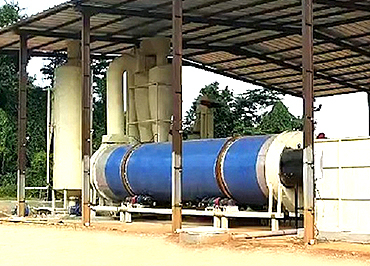 chicken manure drying production line for Nigeria
