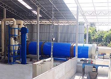 sawdust drying production line for Bulgaria