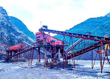 Inner Mongolia Hailar Stone Crushing Production Line