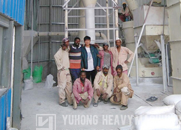 The 80-325 mesh powder grinding mill plant