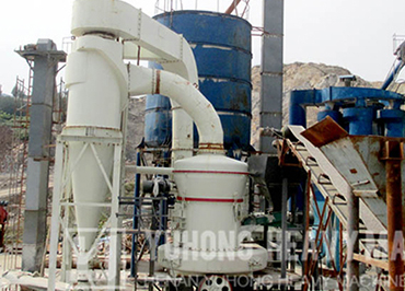 Nigeria Barite MTW175 grinding mill
